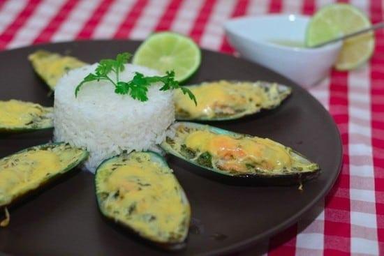 Мидии без раковин в сливочном соусе рецепт