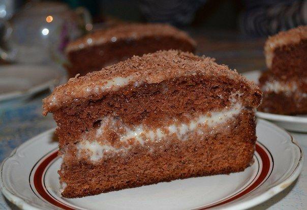 Торт рецепт сметана какао