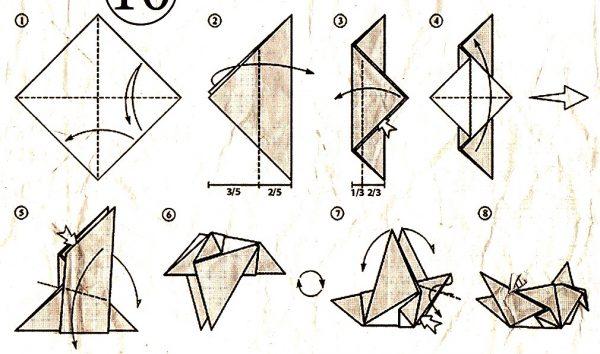 Оригами птички своими руками 69