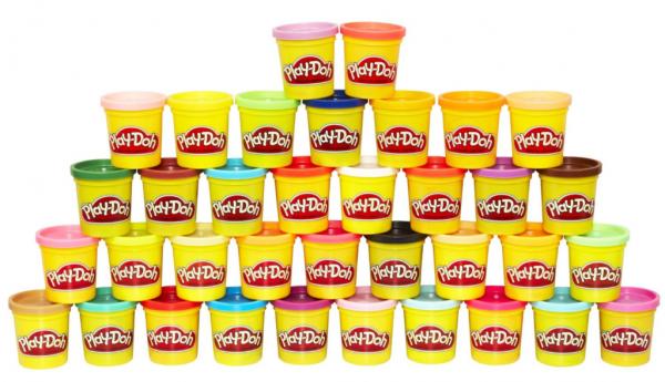 Сделать домашний пластилин Play Doh своими руками