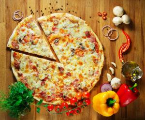 Пицца не только вкусное, но и полезное блюдо