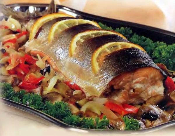 Рыба горячего копчения в духовке