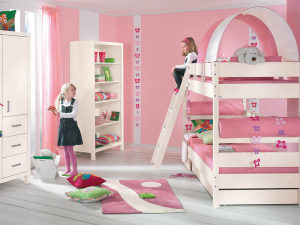 Как выбрать кровать для 2 девочек