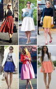 Юбка – стильная составляющая образа. С чем носить юбки